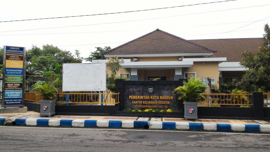 Dukungan kelurahan Sogaten kota madiun kepada Polri