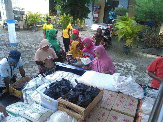Kelurahan Sogaten Menjadi Sasaran Operasi Pasar Pemerintah Kota Madiun